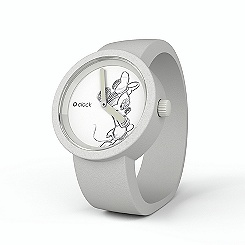 Montre blanche Disney O'Clock Mickey