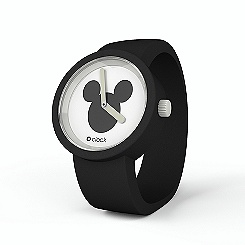 Montre noire Disney O'Clock Mickey