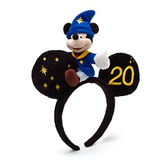 Serre-tête Mickey Collection Célébration de Disneyland Paris