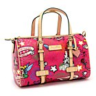 Sac polochon Sketch rose par Dooney & Bourke