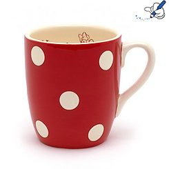 Mug Minnie à pois