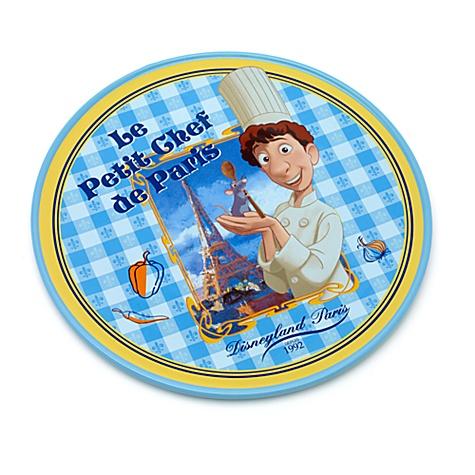 Assiette à fromage Ratatouille, Collection Bistro Disneyland Paris