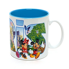 Mug blanc Disneyland Paris, Collection Paris