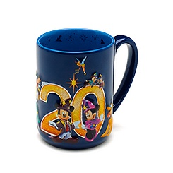 Mug Collection Célébration de Disneyland Paris