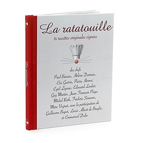 Livre de cuisine Ratatouille Disneyland Paris