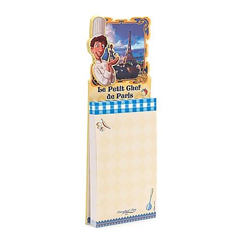 Bloc-notes Ratatouille Collection Bistro Disneyland Paris