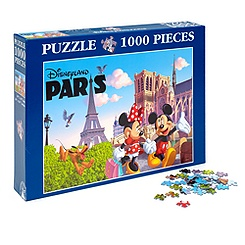Puzzle Clementoni Disneyland Paris, Collection Paris