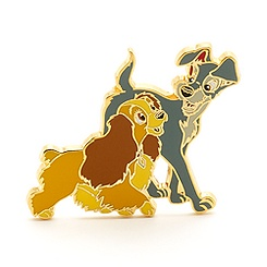 Pin La Belle et le Clochard, Collection Cats and Dogs