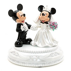 Figurines de mariés Mickey et Minnie Mouse