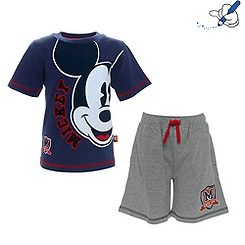 Ensemble T-shirt et short Mickey Mouse