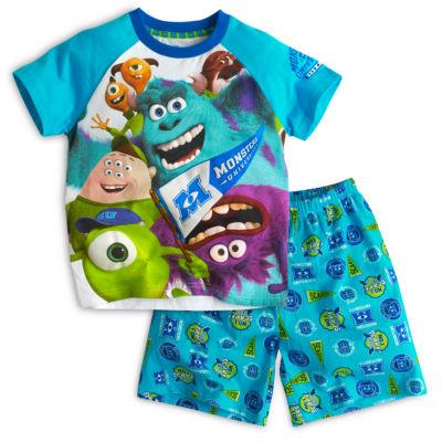 Pyjama à manches courtes Monstres Academy pour enfants
