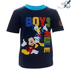 T-shirt Mickey Mouse « Boys Rule »