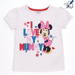 T-shirt pour enfants Minnie Mouse I Love My Mummy