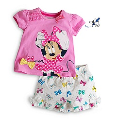 Pyjama short Minnie Mouse pour enfants