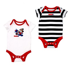 Lot de deux bodies Mickey Mouse