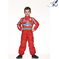 Déguisement de pilote de course Disney Pixar Cars 2 Flash Mc Queen