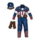 Déguisement de luxe Captain America pour enfants