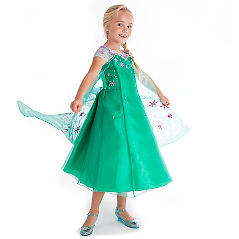 Déguisement Elsa, La Reine des Neiges : une Fête Givrée-3 ans