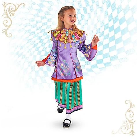 Déguisement de luxe Alice pour enfants, Alice de l'Autre Côté du Miroir-7-8 ans
