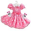 Robe de déguisement Minnie Mouse rose pour enfants