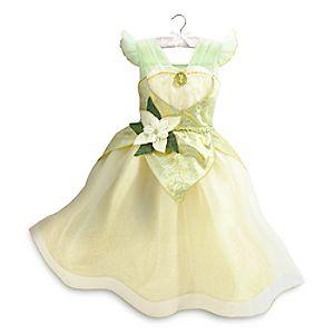Robe de déguisement Tiana pour enfant