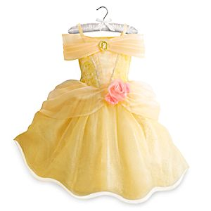 Robe de déguisement lumineuse Belle pour enfants