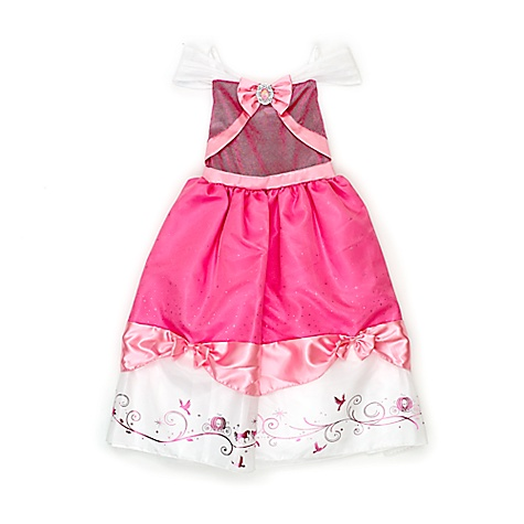 Ensemble de 2 robes de déguisement Cendrillon pour enfants-4 ans