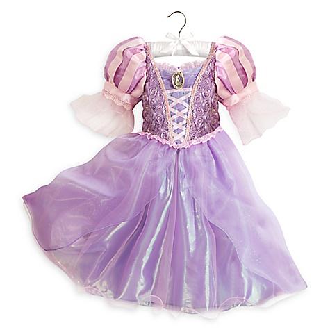 Robe Raiponce pour enfants-4 ans