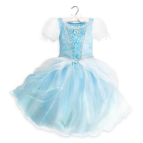 Robe de déguisement Cendrillon pour enfants-9-10 ans