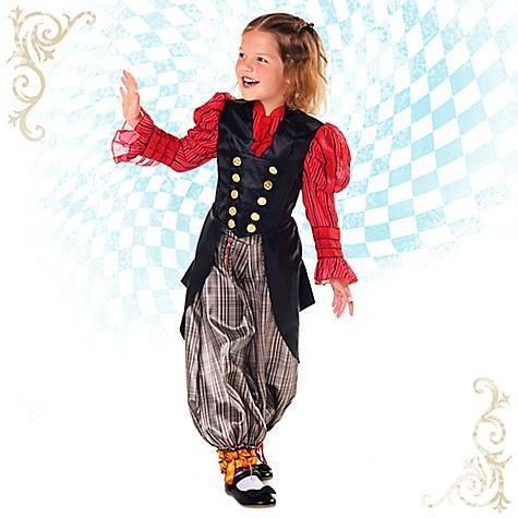 Déguisement Alice pour enfants, Alice de l'Autre Côté du Miroir-3 ans