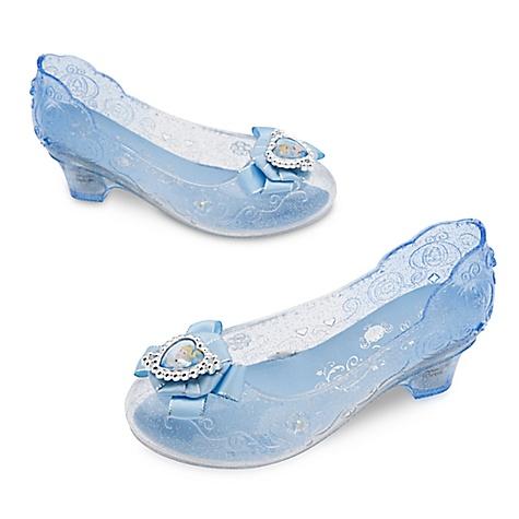 Chaussures de déguisement lumineuses Cendrillon pour enfants-29-31