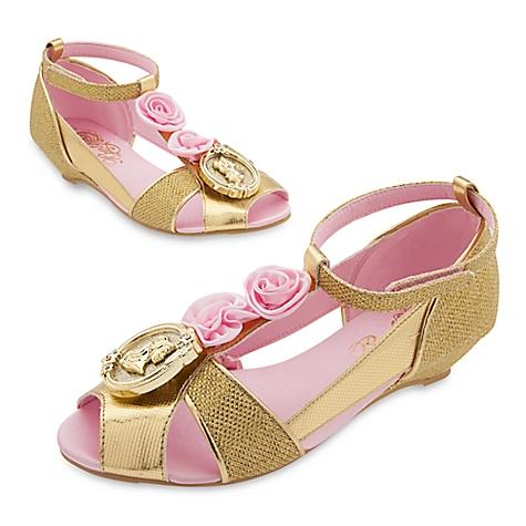 Chaussures de déguisement Belle pour enfants-27-28