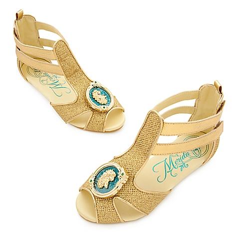Chaussures de déguisement Merida pour enfants-31