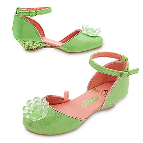 Chaussures de déguisement Fée Clochette pour enfants-29-31
