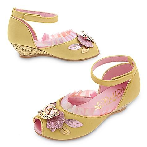 Chaussures de déguisement Belle pour enfants-24-26