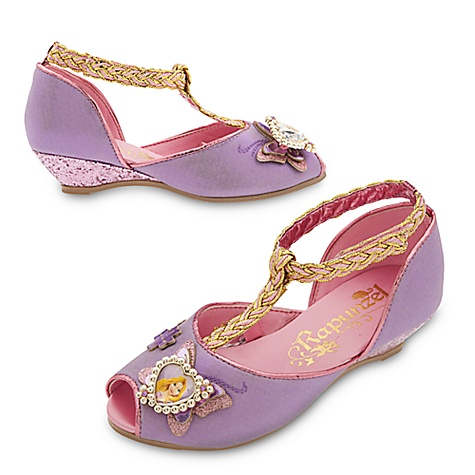Chaussures de déguisement Raiponce pour enfants-29-31