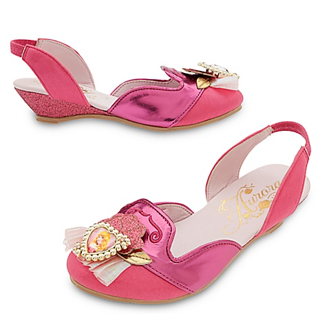 Chaussures de déguisement La Belle au Bois Dormant pour enfants-27-28