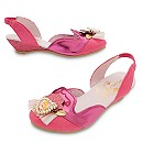 Chaussures de déguisement La Belle au Bois Dormant pour enfants