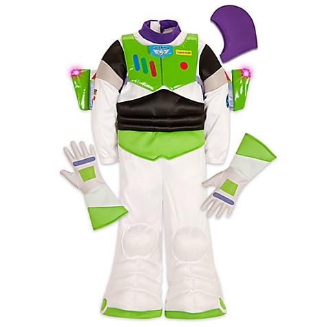 Déguisement lumineux Buzz l'Éclair pour enfants-7-8 ans
