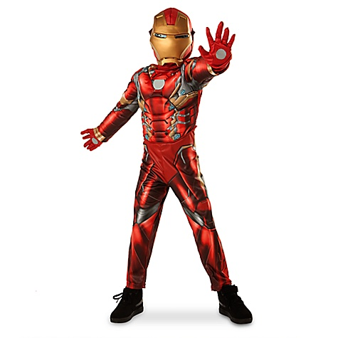 Déguisement Iron Man pour enfants-9-10 ans