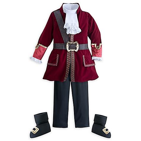 Déguisement enfants Capitaine Crochet, Jake et les Pirates du Pays Imaginaire-5-6 ans