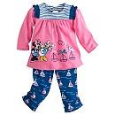Ensemble haut et pantalon Minnie Mouse en tricot pour bébé