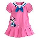 Robe et culottes Minnie Mouse en piqué pour bébé