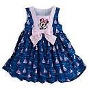 Robe et culottes en coton Minnie Mouse pour bébé