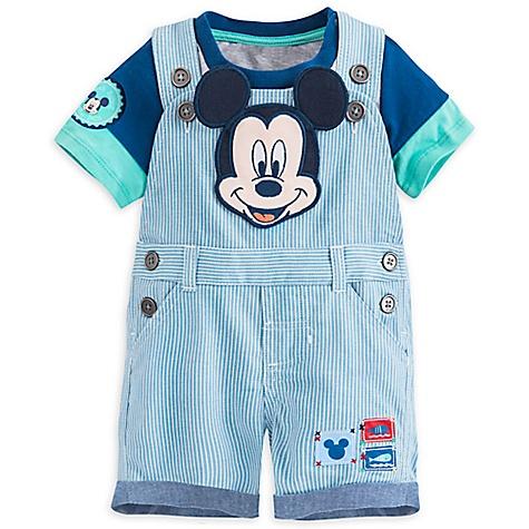 Salopette et body Mickey Mouse pour bébé-12-18 mois