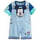 Salopette et body Mickey Mouse pour bébé