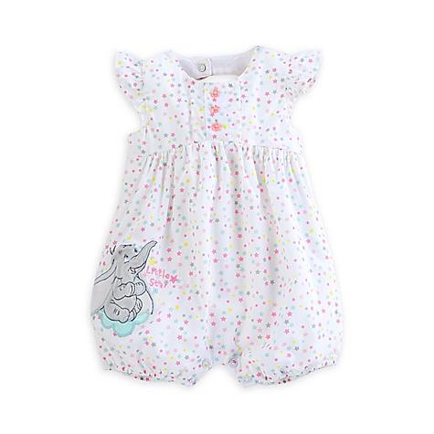 Barboteuse à étoiles Dumbo Layette pour bébé-0-3 mois