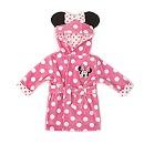 Peignoir à capuche Minnie Mouse pour bébé