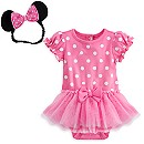 Body déguisement rose Minnie Mouse