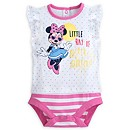 Body à pois Minnie Mouse rose pour bébé